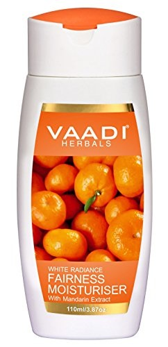 Vaadi Herbals With Mandarin Fairness Moisturiser, 110 ML