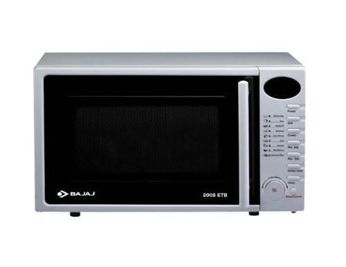 Bajaj 20 Mwo 2005 Etb Grill Microwave Oven White