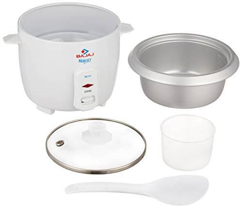 Bajaj RCX1 0.4 L Rice Cooker White
