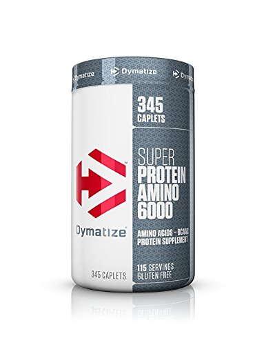 Dymatize Nutrition Super Amino 6000 Diet Supplement (345 Capsules)