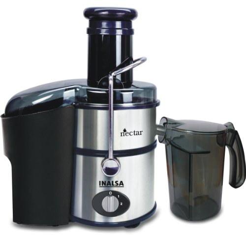 Inalsa Nectar Neo 800 Watts Juice Extractor, Silver & Black