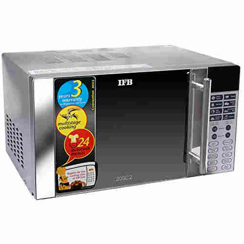 IFB 20SC2 20 Ltr 1200-Watt Convection Microwave Oven Metallic Silver