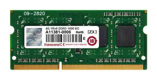 Transcend (JM1600KSH-4G) DDR3 4GB Laptop RAM