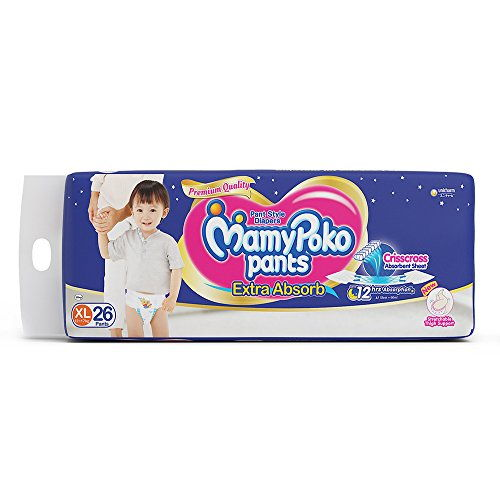 Mamy Poko Pant Style XL Diapers (26 Pieces)