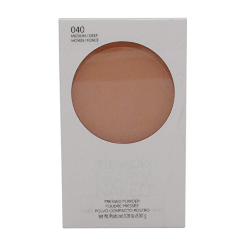 Revlon Nearly Naked Pressed Powder, Medium/Deep