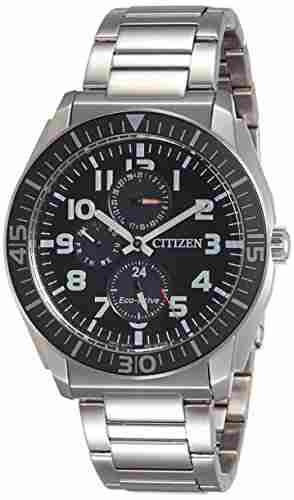 Citizen Eco-Drive AP4010-54E Analog Black Dial Men's Watch (AP4010-54E)