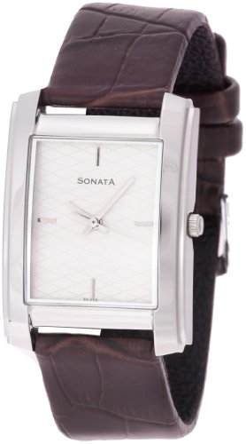 Sonata ND7953SL01 Super Fibre Analog Watch