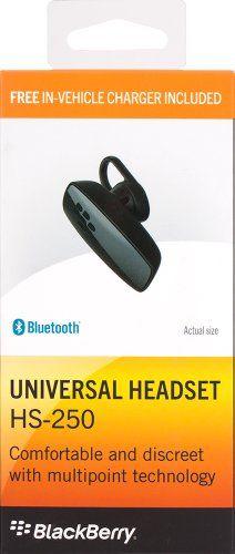 BlackBerry HS -250 Bluetooth Headset