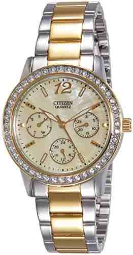 Citizen ED8094-52N Analog Mother of Pearl Dial Women's Watch