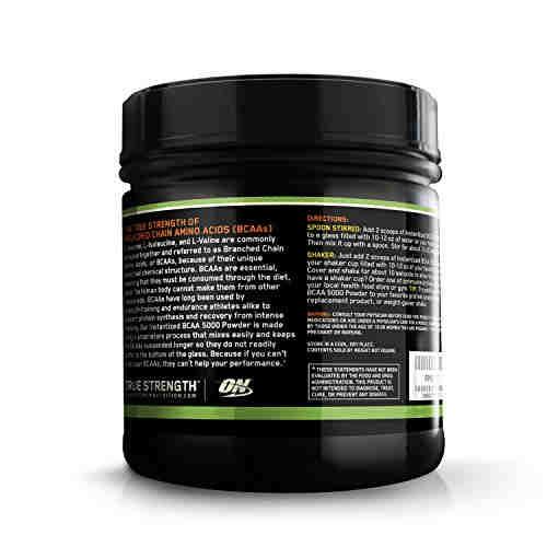 Optimum Nutrition Instantized BCAA 5000 Powder (0.84lbs, Orange)