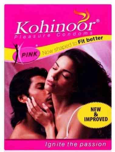 Kohinoor Pink Condoms (10 Condoms)
