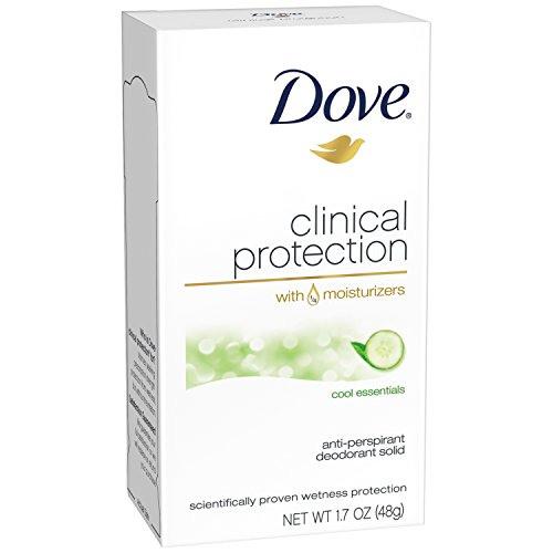 Dove Clinical Protection Cool Essentials Antiperspirant Deodorant, 50 ml
