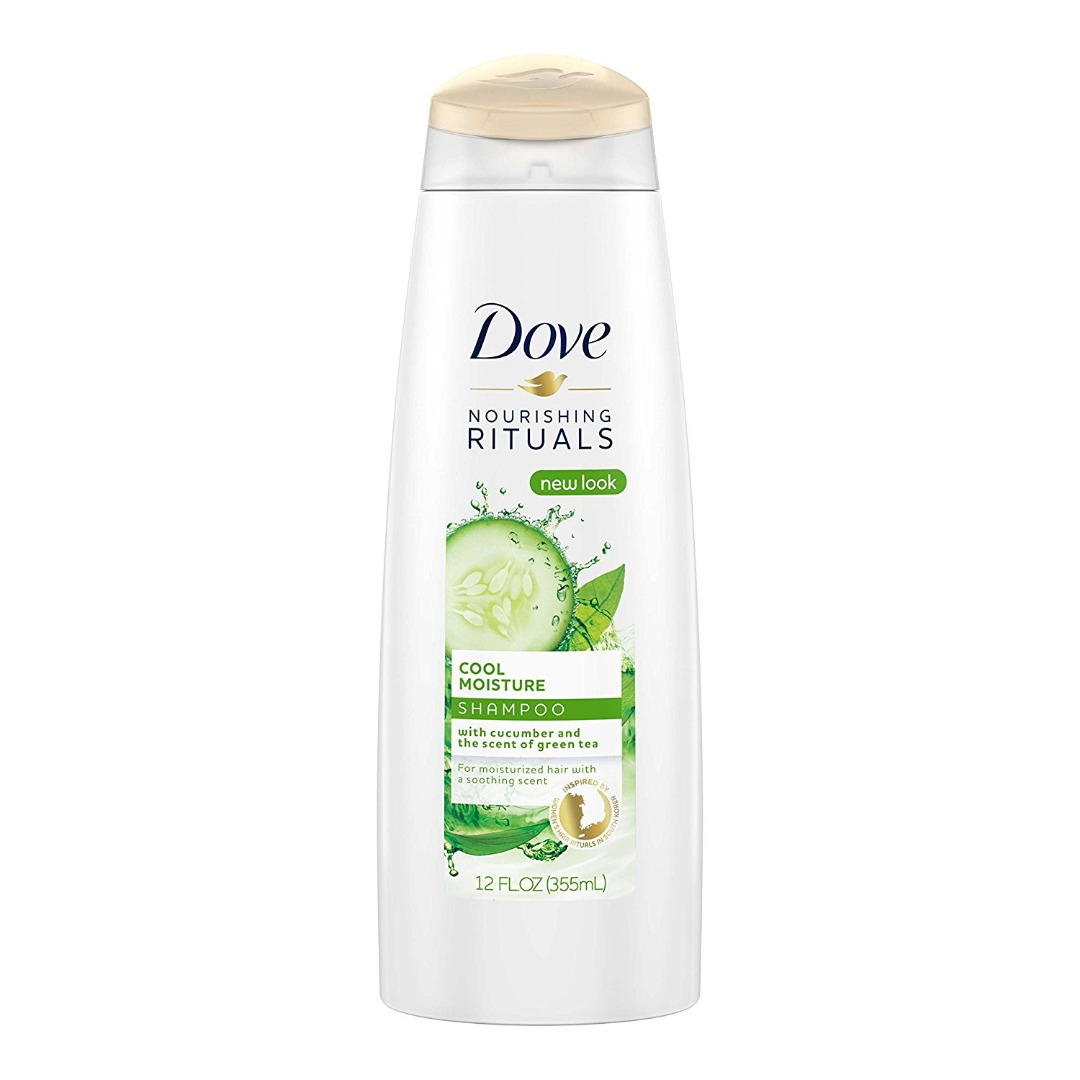 Dove Damage Therapy Cool Moisture Shampoo Cucumber and Green Tea 355ml