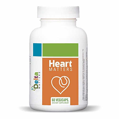 Delta Matters Heart Matters With Astaxanthin Supplements (60 Capsules)