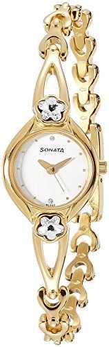 Sonata NG8065YM01 Analog Watch (NG8065YM01)