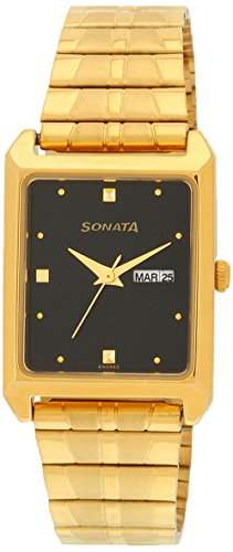 Sonata NF7007YM04 Analog Watch