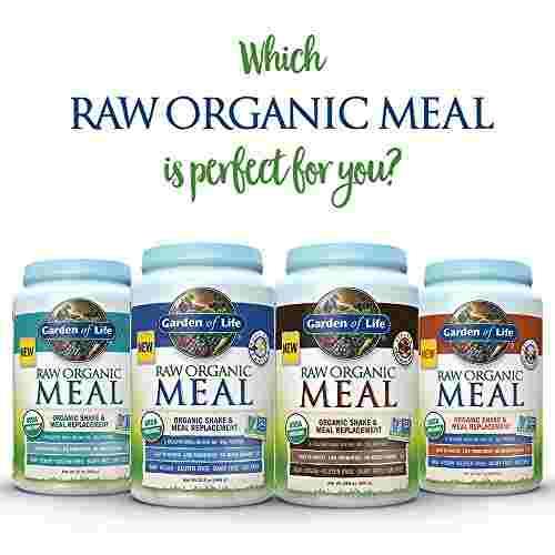 Garden of Life Raw Meal Powder (558gm, Vanilla)