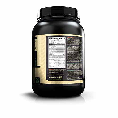 Optimum Nutrition 100% Natural Oats and Whey (1.36Kg, Vanilla)