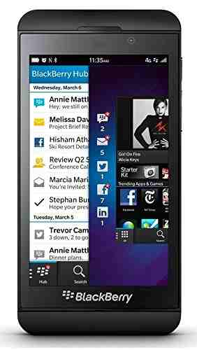 Blackberry Z10 16GB Charcoal Black Mobile