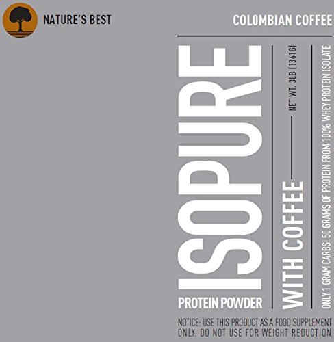 Nature's Best Isopure Zero Carb (1.36Kg / 3lbs, Coffee)