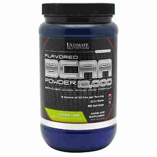 Ultimate Nutrition BCAA Powder (450gm, Lemon Lime)