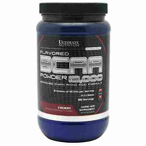 Ultimate Nutrition 100% Crystalline BCAA 12000 (450gm, Cherry)