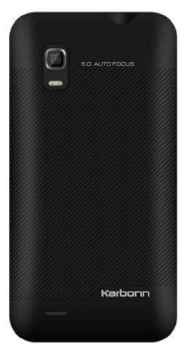 Karbonn A2Plus 180 MB Black Mobile