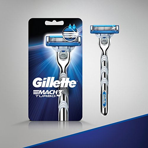 Gillette Mach 3 Turbo Manual Shaving Razor