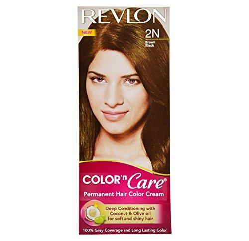Revlon Color N Care Permanent Hair Color Cream Brown Black 2N