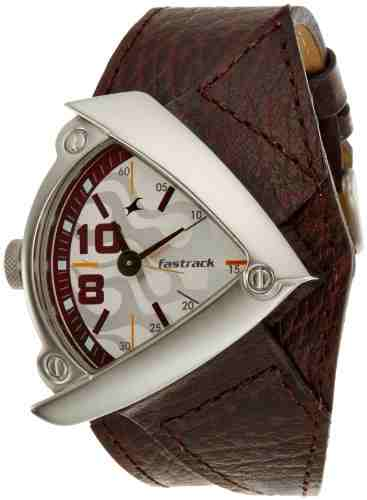 Fastrack 3022Sl01 Gents Leather Watch