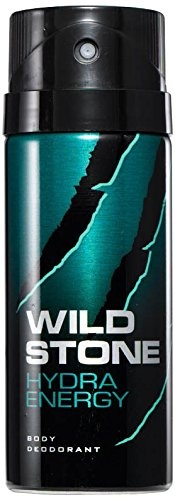 Wild Stone Hydra Energy Body Deodorant Spray, 150 ml