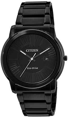 Citizen Eco-Drive AW1215-54E Analog Black Dial Men's Watch