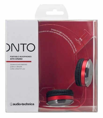 AudioTechnica ATH-ON303 Headphones