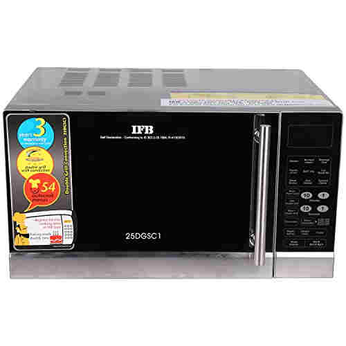 IFB 25DGSC1 25 Ltr 1400 Watt Convection Microwave Oven Black
