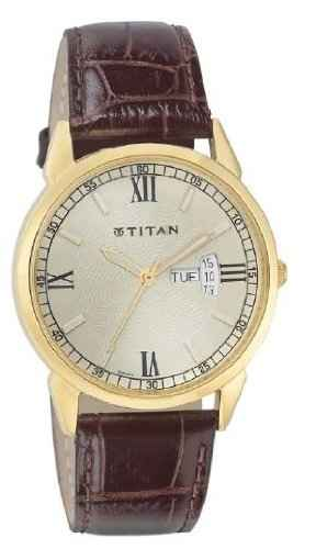 Titan NF1521YL08 Analog Watch
