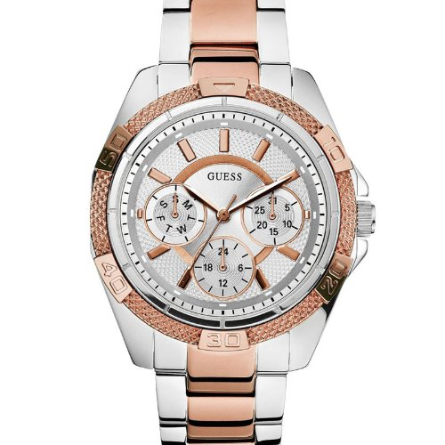 Guess W0235L4 Silver Dial Chronograph Women's Watch (W0235L4)