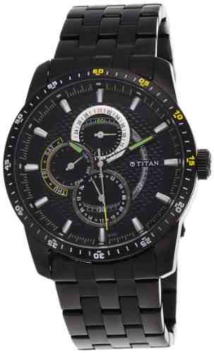 Titan NF9449NM01J Ssteele Collection Analog Watch