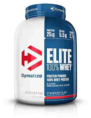 Dymatize Elite Whey (2.3kg, Strawberry)