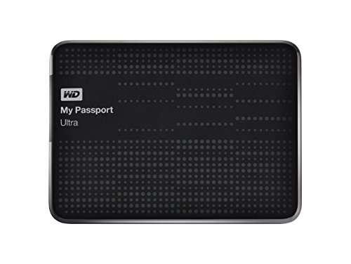 WD My Passport Ultra Secure (WDBBKD0020B) USB 3.0 2TB External Hard Drive