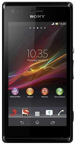 Sony Xperia M Dual Black Mobile