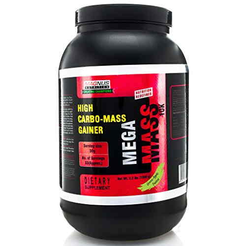 Magnus Nutrition Mega Mass 10K (1Kg, Apple)