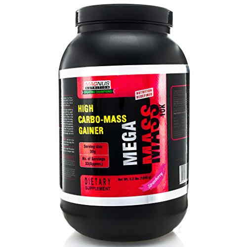 Magnus Nutrition Mega Mass 10K (1Kg, Strawberry)