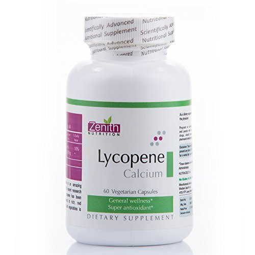 Zenith Nutrition Lycopene With Calcium Supplements (60 Capsules)