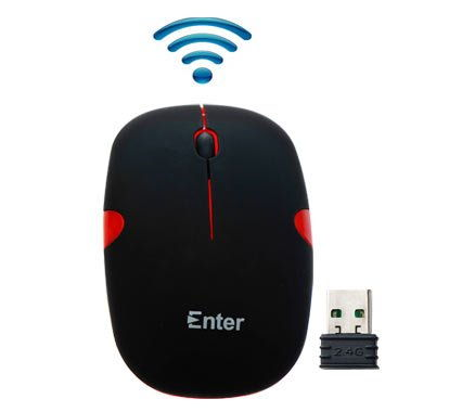 Enter E-W52R USB Optical Mouse