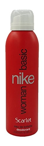 Nike Basic Scarlet EDT Deo For Women, 200 ml