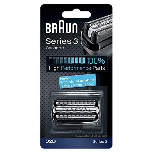 Braun Series 3 32B Foil & Cutter Replacement Shaving Heads For 320 330 340 & 350CC