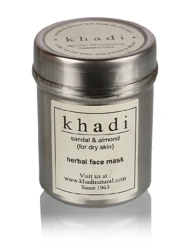 Khadi Sandal And Almond Face Mask 50gm
