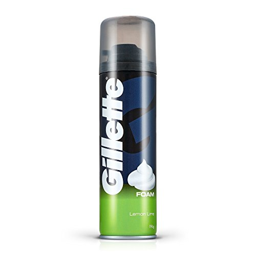 Gillette Classic Lemon Lime Pre Shave Foam - 196 g