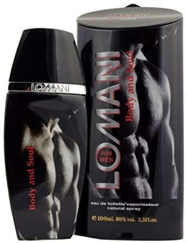 Lomani Body and Soul Eau de Toilette Spray For Men, 100 ML
