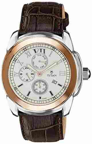 Titan NH9492KL05 Classic Analog Watch